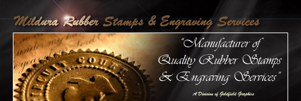 Mildura Rubber Stamp and Engraving Services